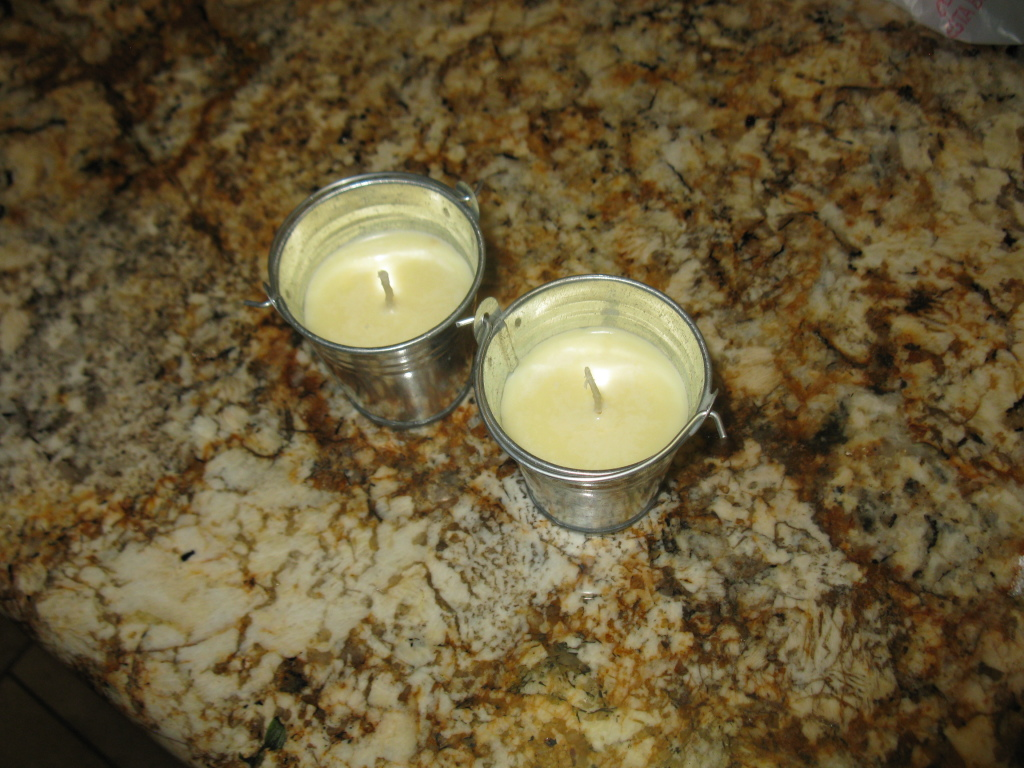Perfect candles from beef tallow