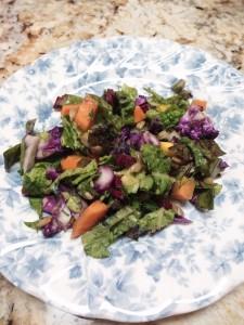 Blessing Falls Spring Garden Chopped Salad