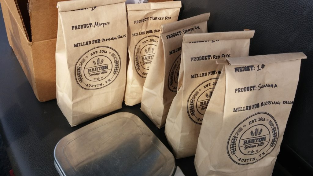 Heritage Grain seeds from Barton Springs Mill